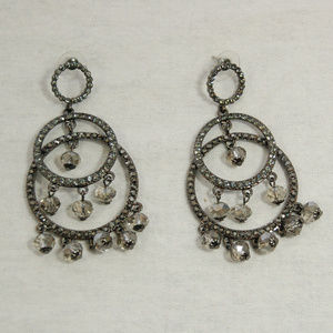 Jewelry - Chandelier Earrings with Drop Crystals